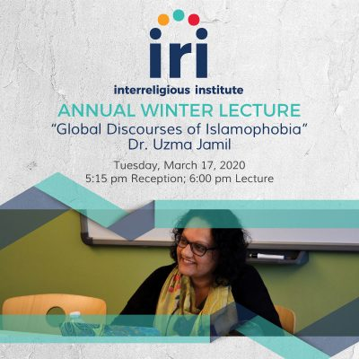IRI Lecture: Global Discourses of Islamophobia
