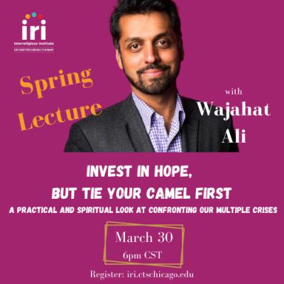 IRI Spring Lecture